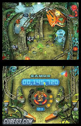 Screenshot for Metroid Prime Pinball on Nintendo DS - on Nintendo Wii U, 3DS games review