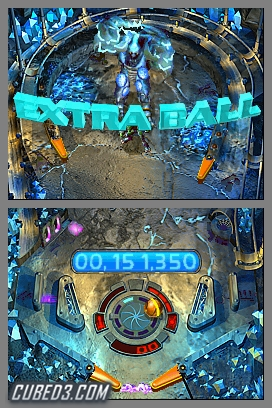 Screenshot for Metroid Prime Pinball on Nintendo DS- on Nintendo Wii U, 3DS games review