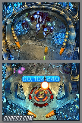Screenshot for Metroid Prime Pinball - click to enlarge