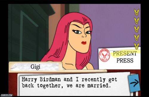 Screenshot for Harvey Birdman: Attorney at Law on Wii - on Nintendo Wii U, 3DS games review