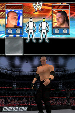 Screenshot for WWE Smackdown VS Raw 2008 on Nintendo DS