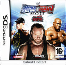 Box art for WWE Smackdown vs. Raw 2008