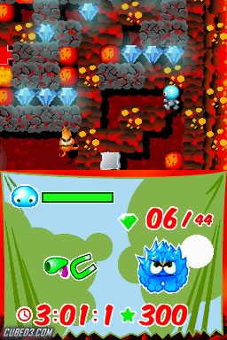 Screenshot for Boulder Dash Rocks! on Nintendo DS - on Nintendo Wii U, 3DS games review