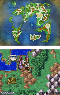 Screenshot for Dragon Quest IV: The Chapters of the Chosen on Nintendo DS