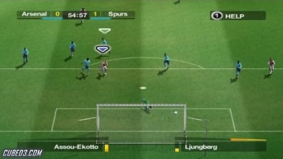 Screenshot for FIFA 08 on Wii