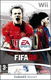 Box art for FIFA 08