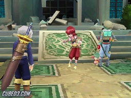 Screenshot for Tales of Innocence (Hands-On) on Nintendo DS