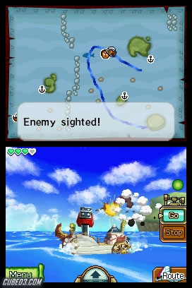 Screenshot for The Legend of Zelda: Phantom Hourglass on Nintendo DS