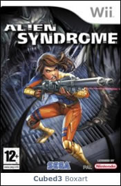 Box art for Alien Syndrome