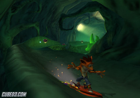 Screenshot for Crash of the Titans on Wii