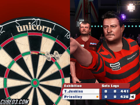 Screenshot for PDC World Championship Darts 2008 on Wii