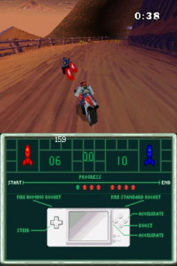 Screenshot for Biker Mice From Mars on Nintendo DS