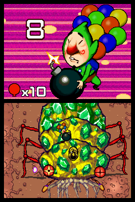 Screenshot for Freshly Picked Tingle's Rosy Rupeeland on Nintendo DS
