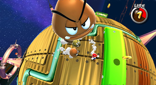 Screenshot for Super Mario Galaxy on Wii