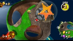 Screenshot for Super Mario Galaxy - click to enlarge