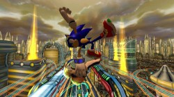 Screenshot for Sonic Riders: Zero Gravity - click to enlarge