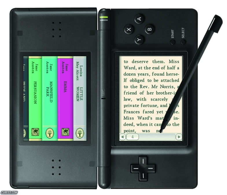 Screenshot for 100 Classic Book Collection on Nintendo DS - on Nintendo Wii U, 3DS games review
