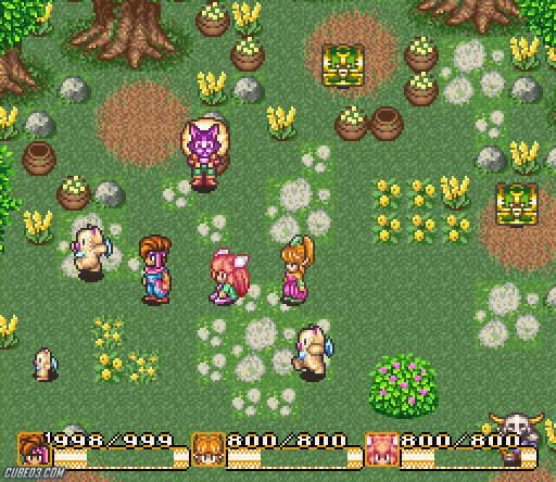 Screenshot for Secret of Mana on Super Nintendo - on Nintendo Wii U, 3DS games review