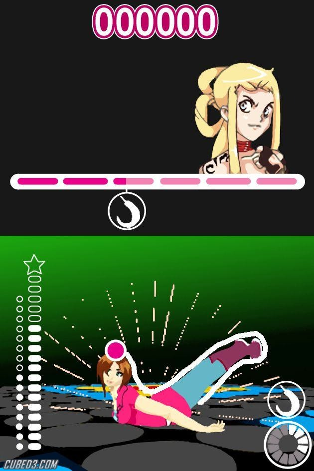 Screenshot for Ener-G Dance Squad on Nintendo DS
