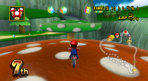 Screenshot for Mario Kart Wii on Wii - on Nintendo Wii U, 3DS games review