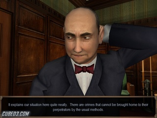 Screenshot for Agatha Christie: And Then There Were None on Wii - on Nintendo Wii U, 3DS games review