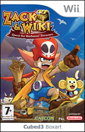 Box art for Zack & Wiki: Quest for Barbaros' Treasure