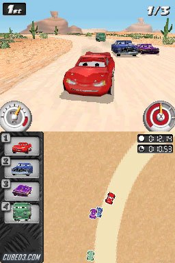 Screenshot for Cars: Mater-National on Nintendo DS