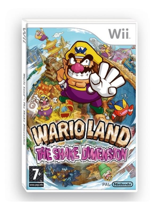 Image for UK Boxart for Wario Land Wii