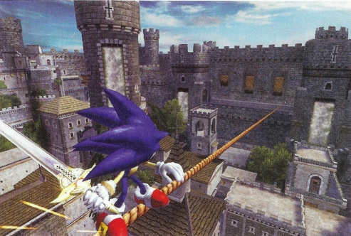Image for Sonic and the Black Knight - First Scans, Details