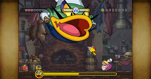 Screenshot for Wario Land: The Shake Dimension on Wii - on Nintendo Wii U, 3DS games review