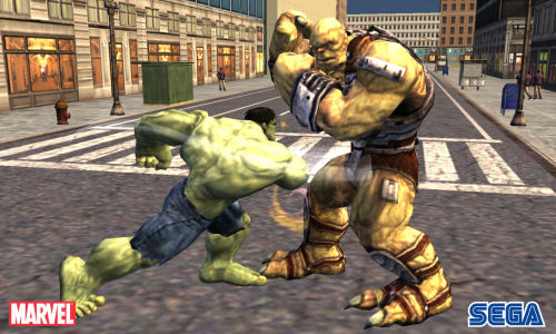 Screenshot for The Incredible Hulk on Wii - on Nintendo Wii U, 3DS games review