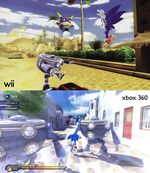 Image for First Sonic Unleashed Wii Screens