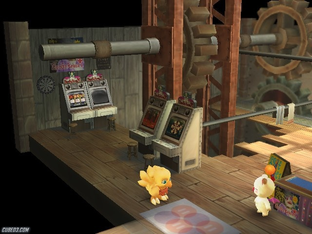 Screenshot for Final Fantasy Fables: Chocobo's Dungeon on Wii - on Nintendo Wii U, 3DS games review