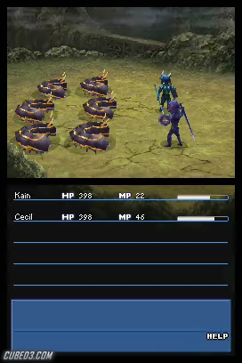 Screenshot for Final Fantasy IV on Nintendo DS - on Nintendo Wii U, 3DS games review