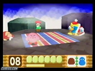 Screenshot for Kirby 64: The Crystal Shards on Nintendo 64