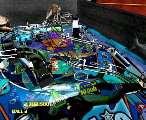 Screenshot for Dream Pinball 3D on Wii - on Nintendo Wii U, 3DS games review