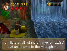 Screenshot for LEGO Indiana Jones: The Original Adventures on Nintendo DS - on Nintendo Wii U, 3DS games review