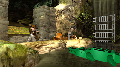 Screenshot for LEGO Indiana Jones: The Original Adventures on Wii - on Nintendo Wii U, 3DS games review