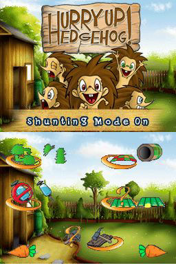 Screenshot for Hurry Up Hedgehog! on Nintendo DS - on Nintendo Wii U, 3DS games review