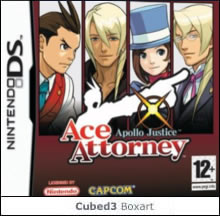 Box art for Apollo Justice: Ace Attorney