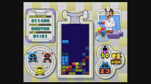 Screenshot for Dr. Mario & Germ Buster on WiiWare - on Nintendo Wii U, 3DS games review