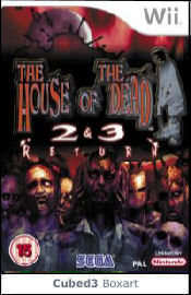Box art for The House Of The Dead 2&3 Return