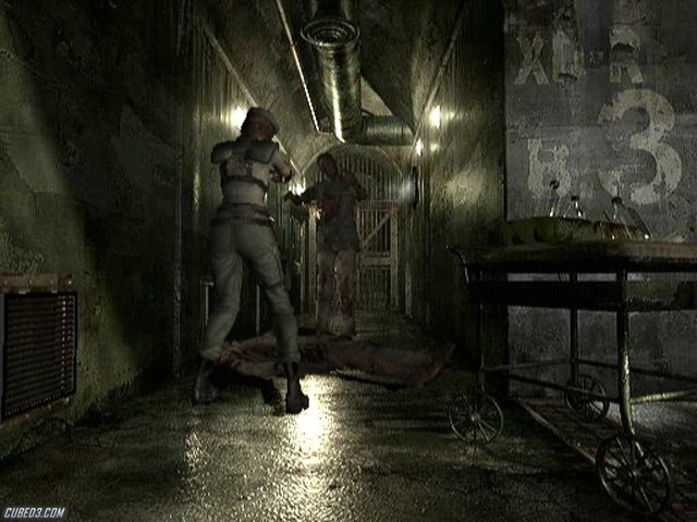 Screenshot for Resident Evil Archives: Resident Evil on Wii - on Nintendo Wii U, 3DS games review