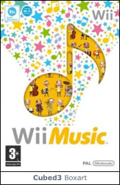 Box art for Wii Music