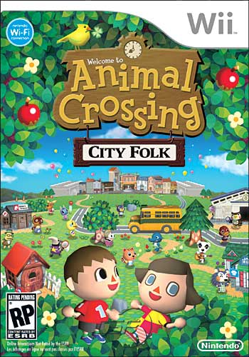 Image for Final Animal Crossing Wii Boxart?