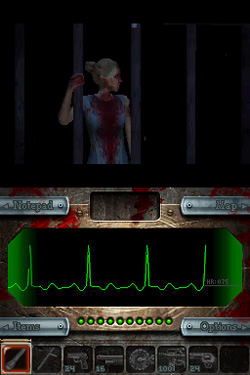 Screenshot for Dementium: The Ward on Nintendo DS- on Nintendo Wii U, 3DS games review