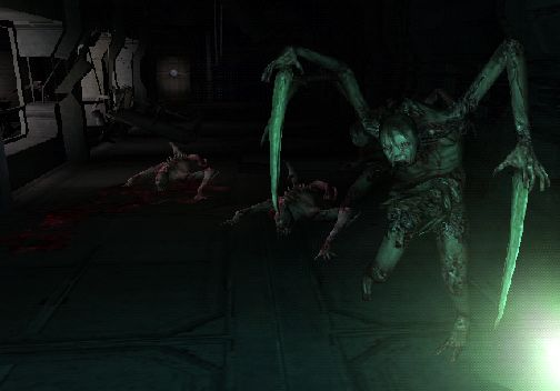 Screenshot for Dead Space: Extraction (Hands-On) on Wii
