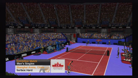 Screenshot for Virtua Tennis 2009 on Wii - on Nintendo Wii U, 3DS games review