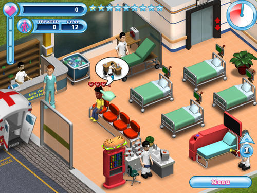 Screenshot for Hysteria Hospital: Emergency Ward on Wii - on Nintendo Wii U, 3DS games review