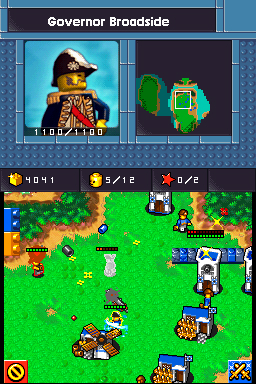 Screenshot for LEGO Battles on Nintendo DS - on Nintendo Wii U, 3DS games review
